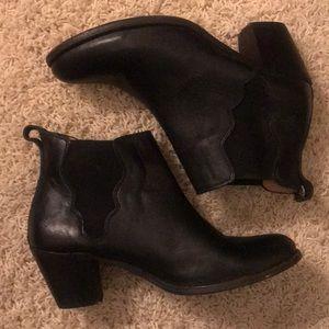 Frye Black Ankle Booties